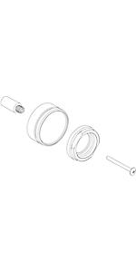 Extention kit for diverter valve EX42588PC