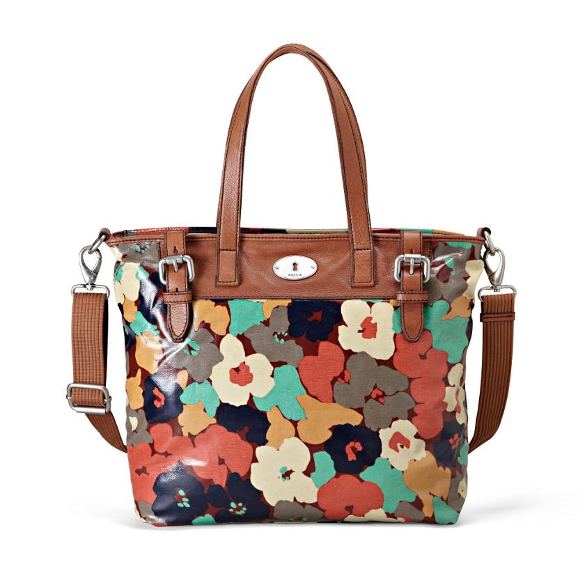 Una borsa donna Fossil Floral