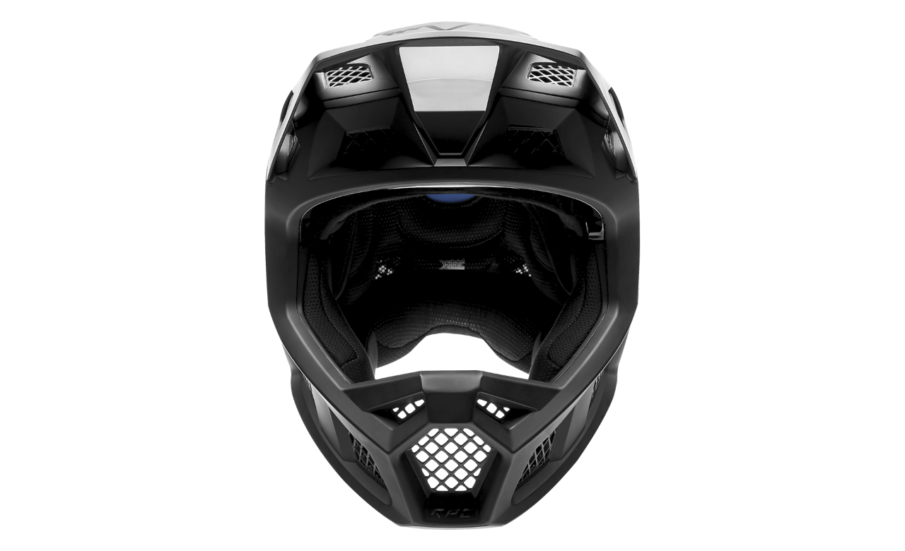 Rampage Pro Carbon Helmet with Fluid Inside - Fox Racing