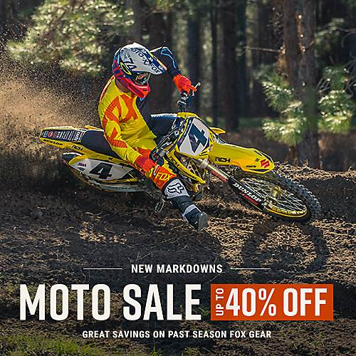 Moto Sale - Up to 40% Off