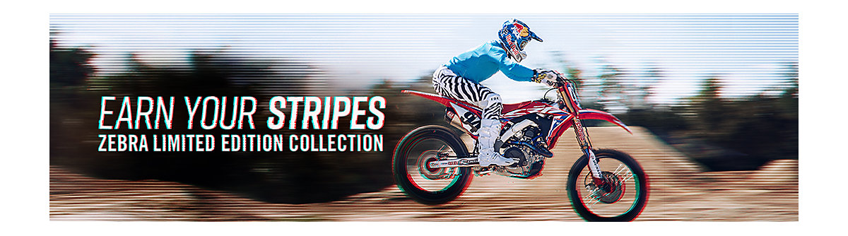902462ce6 Limited Edition Moto Zebra Collection - Fox Racing® Moto - Official ...