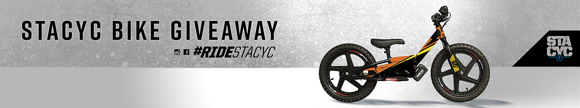 Contest: Enter to win a Special Edition Fox Racing x STACYC 12eDRIVE Bike