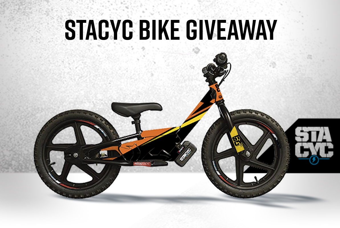 STACYC BIKE giveaway