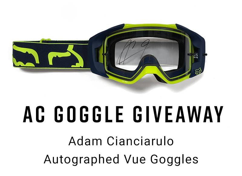 AC Goggle Giveaway