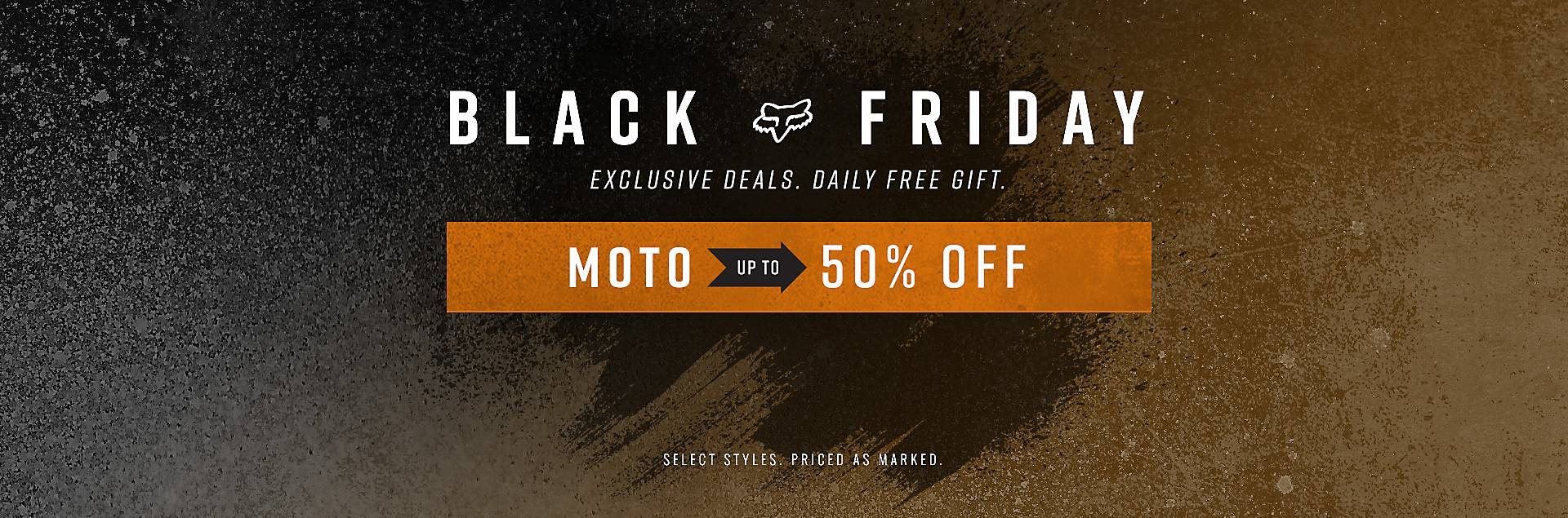 Up to 50% Off Moto