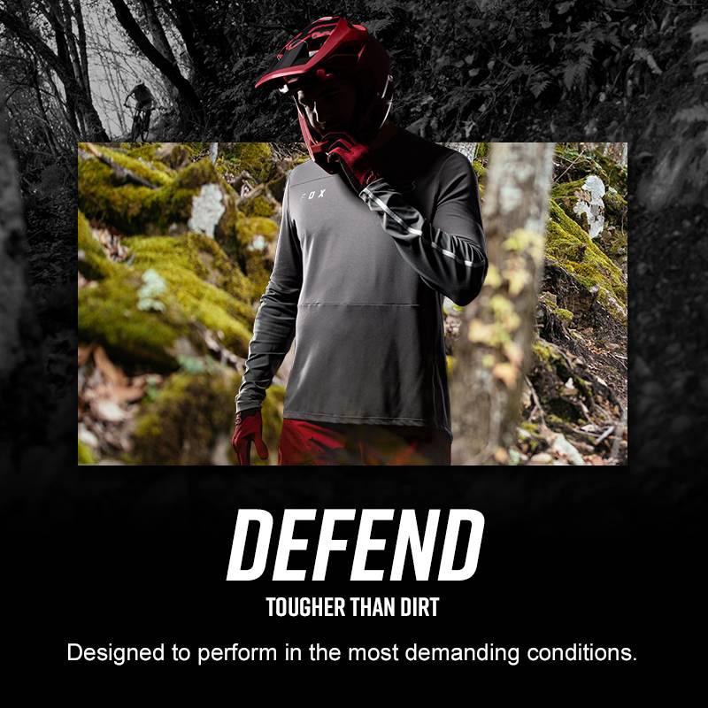 Fox Racing 2020 Defend Fast s//s Short Sleeve Jersey Black