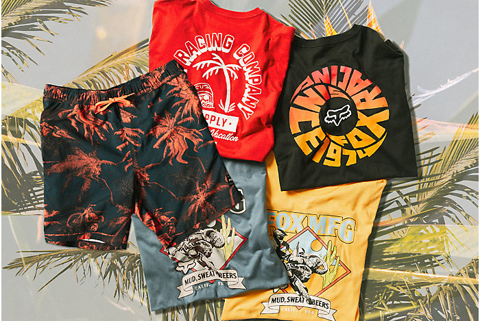 Fresh Summer Apparel Drops for Men, Women and youth