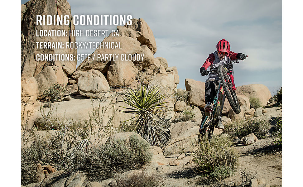 Defend riding conditions
