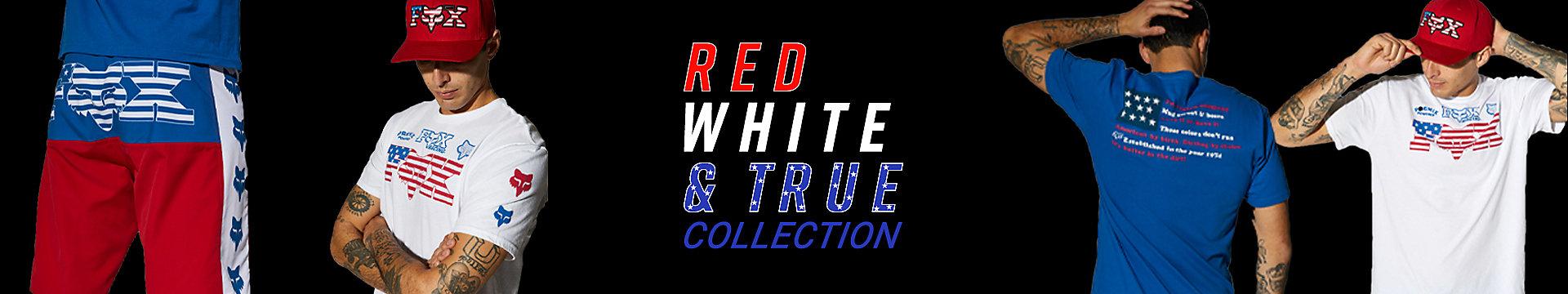 Red, White & True