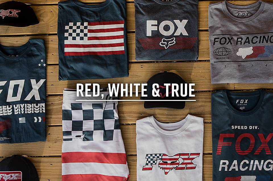 Red, White & True