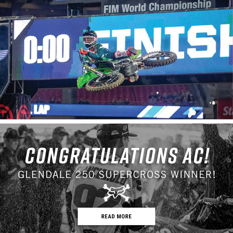 Glendale 250 Supercross Winner!