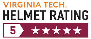 virginia tech helmet rating for dropframe pro