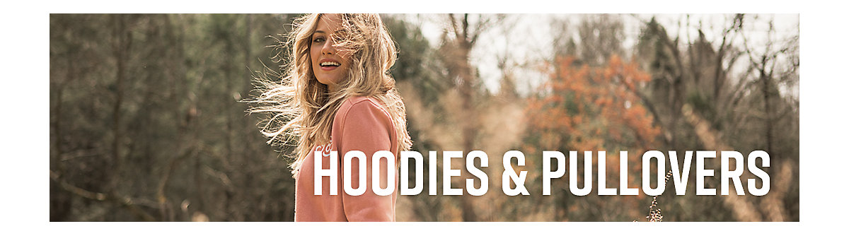 Women's Hoodies & Pullovers