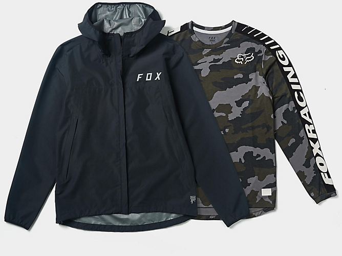 camo tee and jacket set