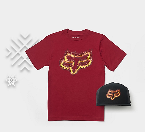 flamhead tee and hat