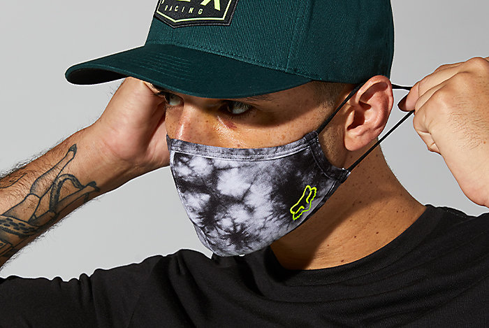 New Fox Racing Face Masks