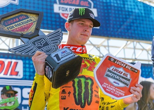 ADAM WINS THE FOX RACEWAY NATIONAL