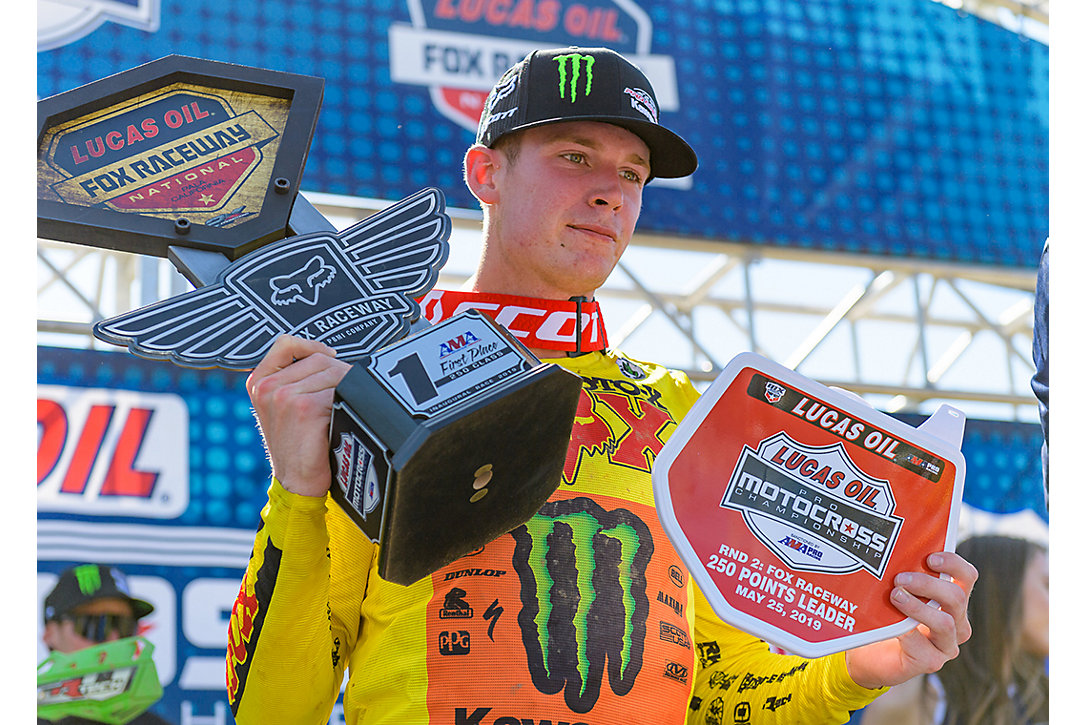 ADAM WINS THE FOX RACEWAY NATIONAL
