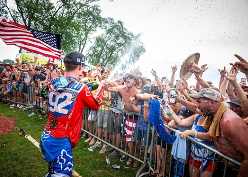 ADAM CIANCIARULO TAKES SECOND AT REDBUD