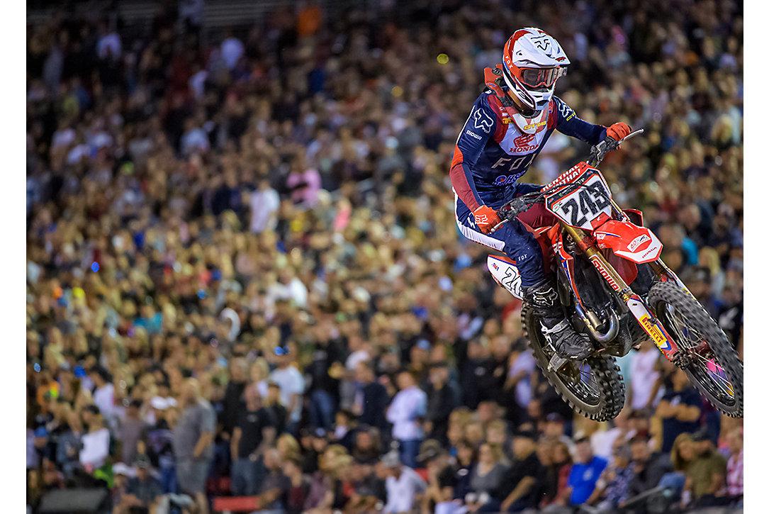 Adam Cianciarulo. Victory in 450 Debut.
