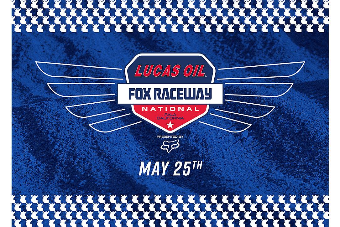 FOX RACEWAY NATIONAL EVENT INFO
