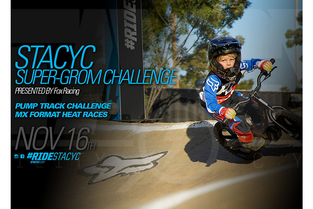 STACYC Super-Grom Challenge