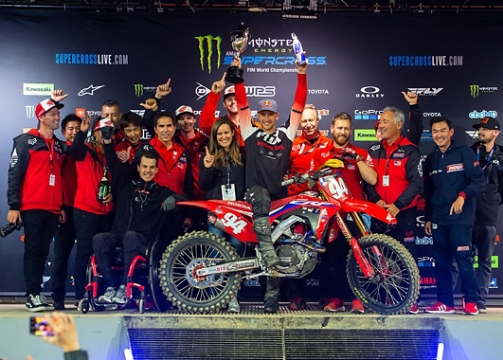 ROCZEN & FORKNER SWEEP AZ SUPERCROSS