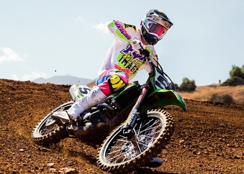 Adam Cianciarulo Makes his 450 Debut in Castr Gear