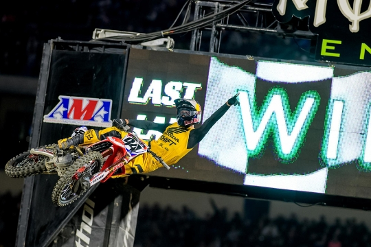 Anaheim 1 SX Results & Photo Gallery