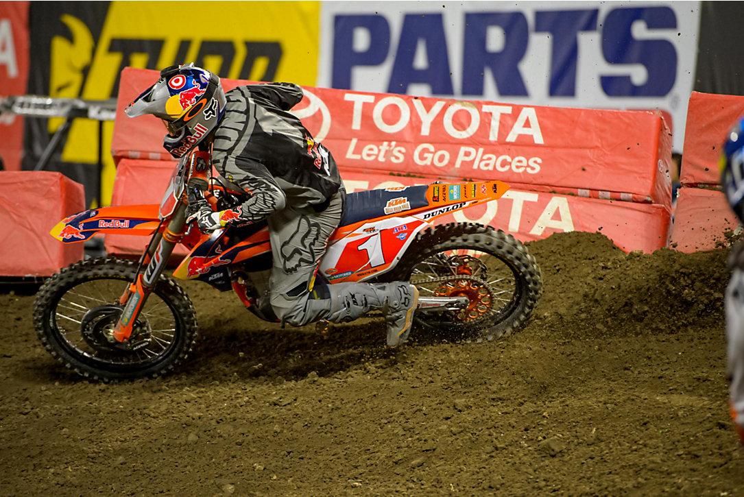 Anaheim 1 SX Results & Photo Gallery