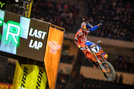 Anaheim 2 SX Results & Photo Gallery