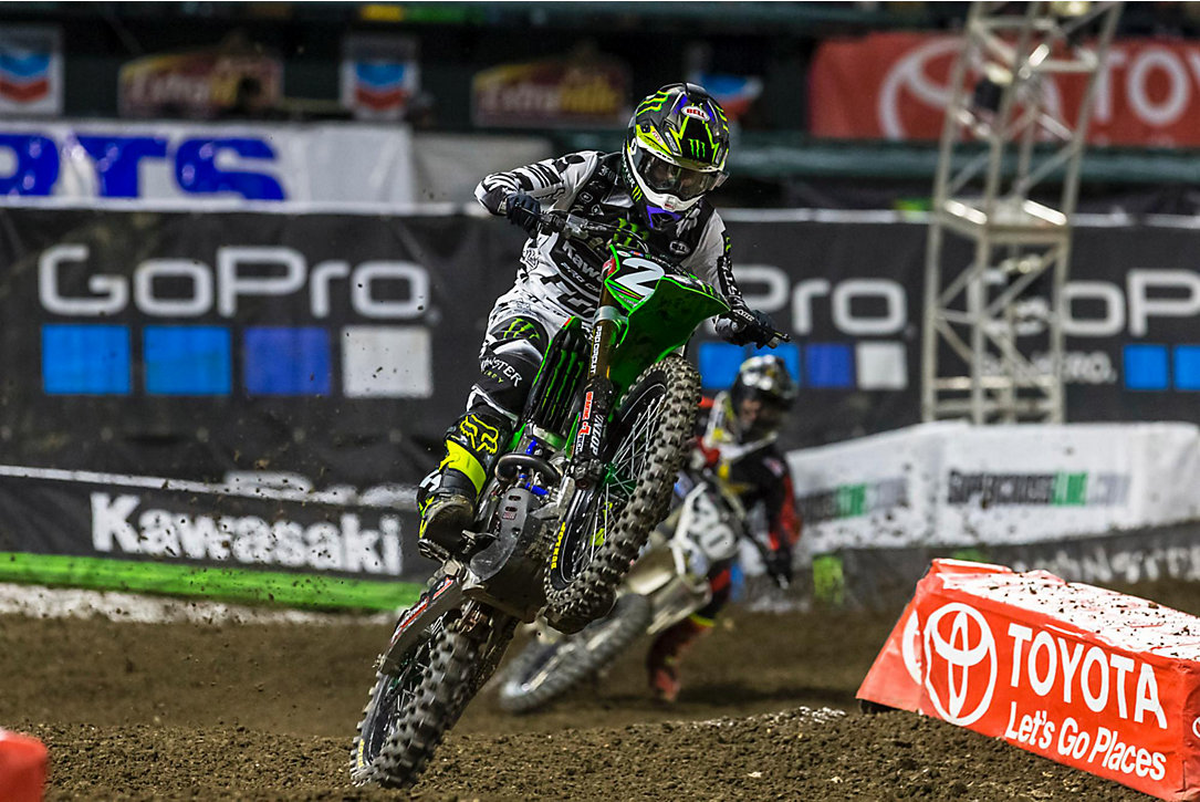 Anaheim 2 SX Results & Photo Gallery