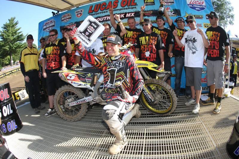 Congratulations Ryan Dungey - 2010 AMA 450cc Motocross Champion