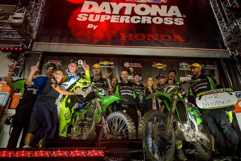 DAYTONA SX RESULTS & PHOTO GALLERY