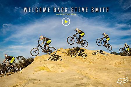 132ca77b Fox MTB Presents | Welcome Back Steve Smith