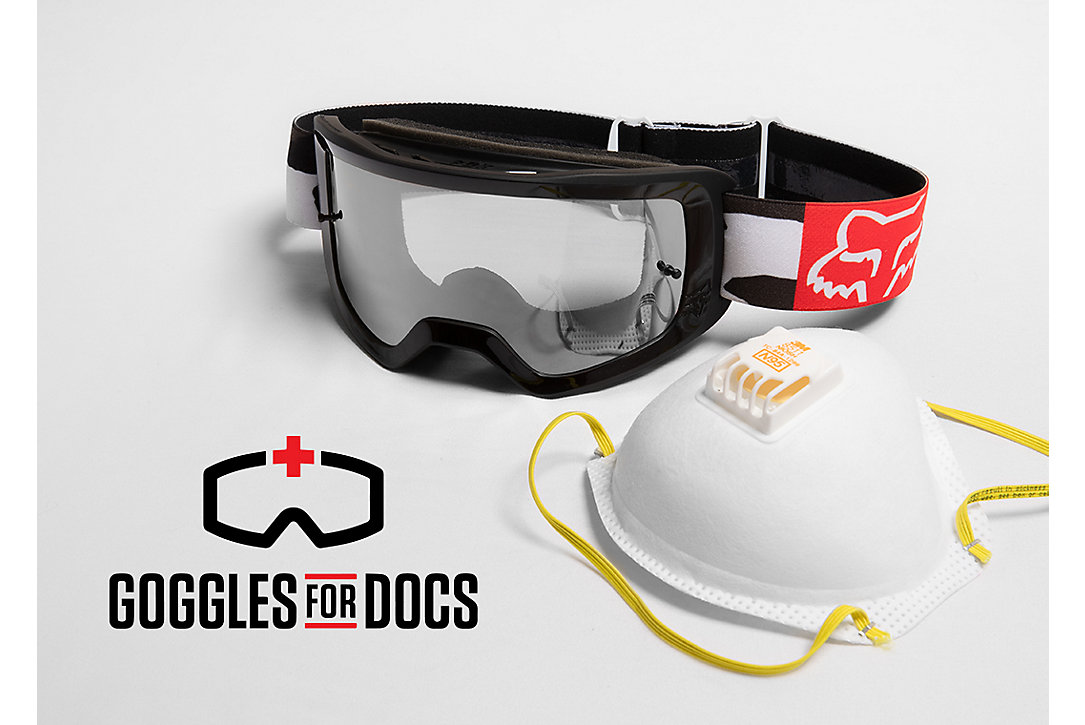 Fox Supports Goggles for Docs