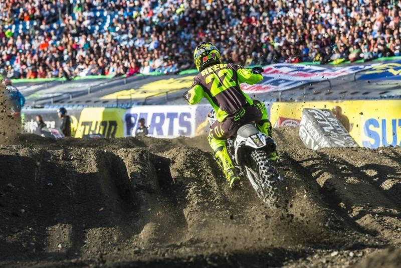 Foxborough, MA - Supercross Race Recap