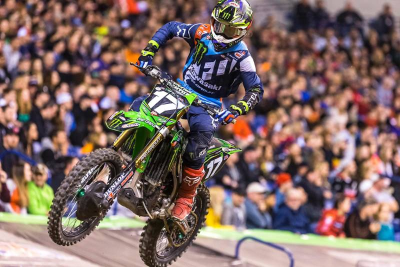 INDIANAPOLIS SX RESULTS & PHOTO GALLERY