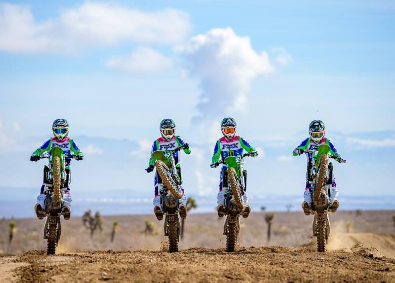 Monster Energy Pro Circuit Kawasaki & Fox Racing