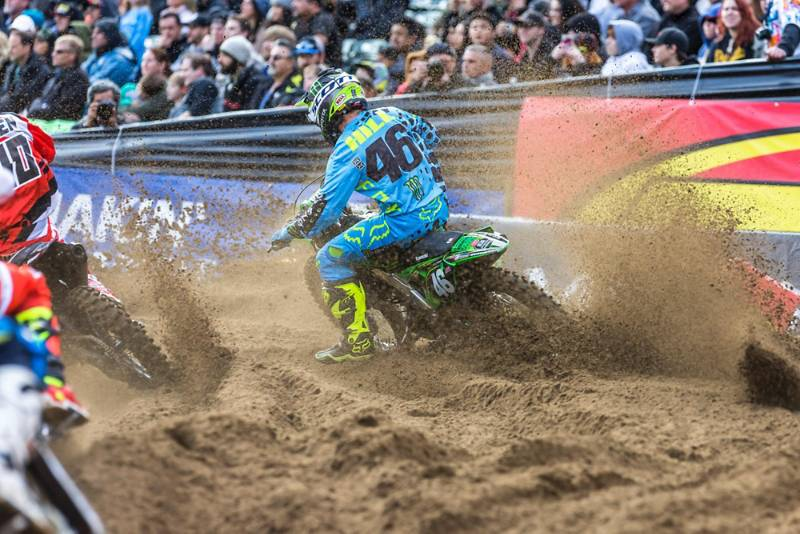 OAKLAND CA SX RESULTS & PHOTO GALLERY