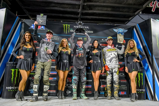 San Diego, CA - Supercross Race Recap