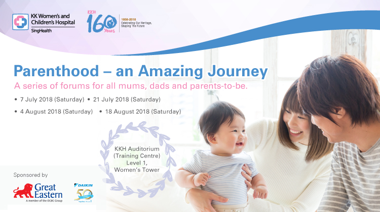 Parenthood - An Amazing Journey - Public Forum - Great Eastern Life
