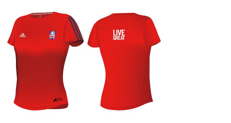 Race Tee - Great Eastern Women's Run
