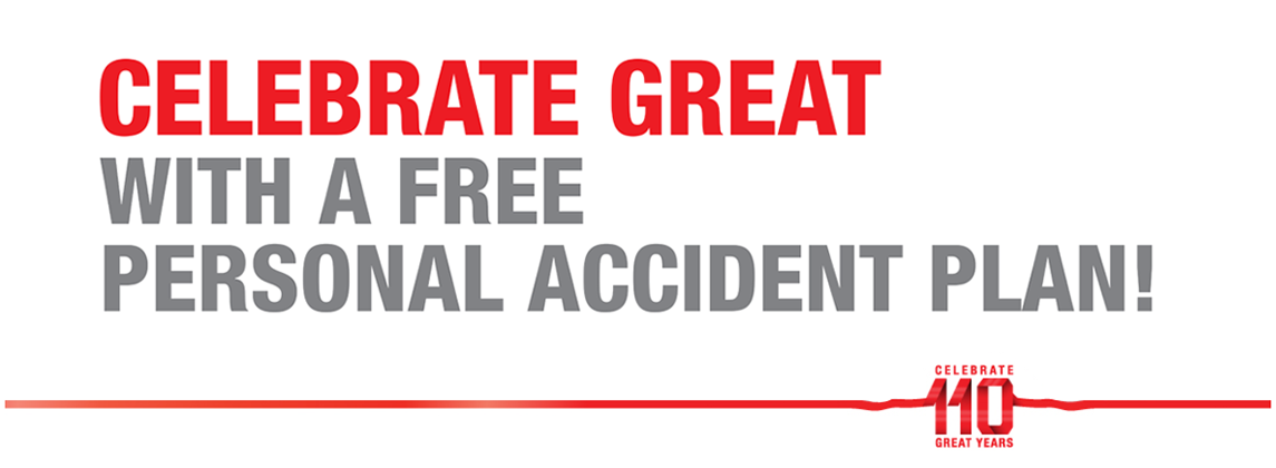 Celebrate Great with A Free Personal Accident Plan! - Great Eastern