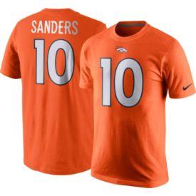 479004257ee ... Jersey Nike Mens Denver Broncos Emmanuel Sanders 10 Pride Orange T-Shirt  ...
