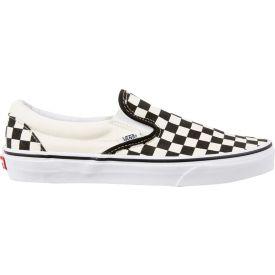 vans checkerboard slip on black friday