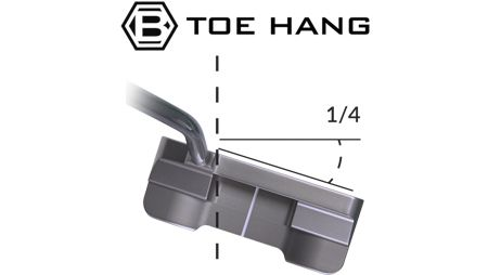 Studio Stock 28 Slotback – Toe Hang