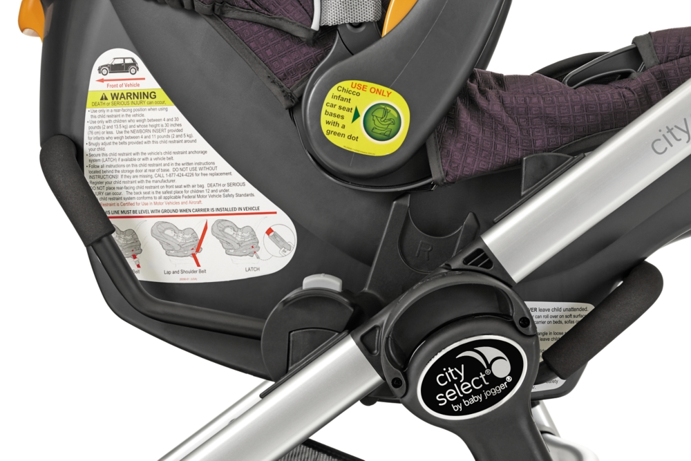 Car Seat Adapter (city select®, city select® LUX, city premier™) for Chicco® / Peg Perego.