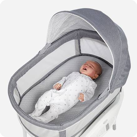 Bassinet Detects Baby Crying