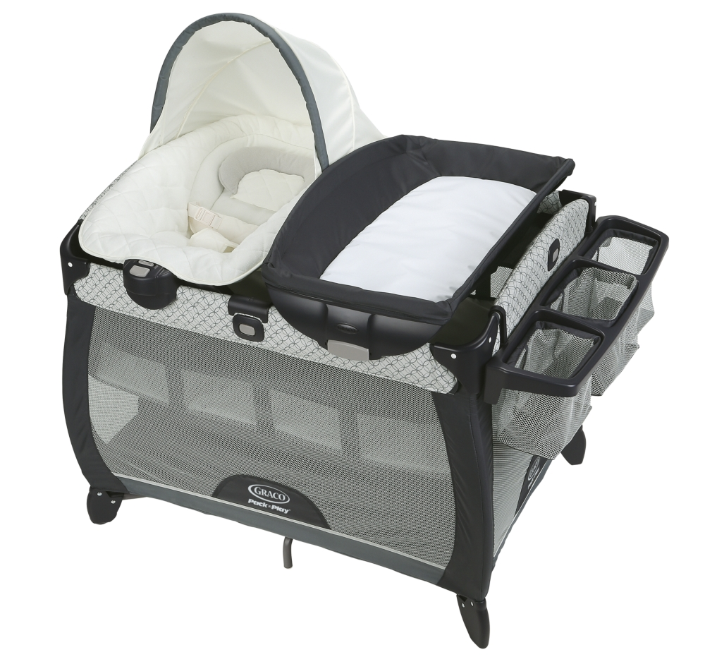 c30a22c54 Pack 'n Play® Quick Connect™ Portable Napper Deluxe Playard ...